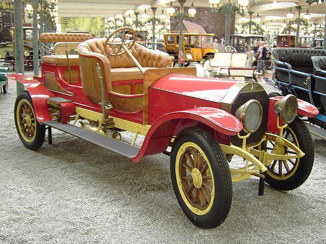 1907 Mercedes 24-40 Landaulet