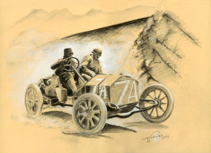 1908 Isotta Fr ir
