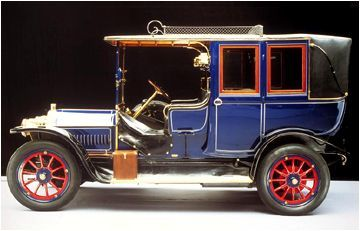 1908 Mercedes Benz 35 PS Kardanwagen