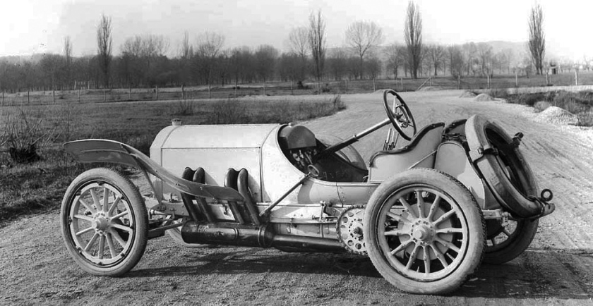 1908 Mercedes GP Car