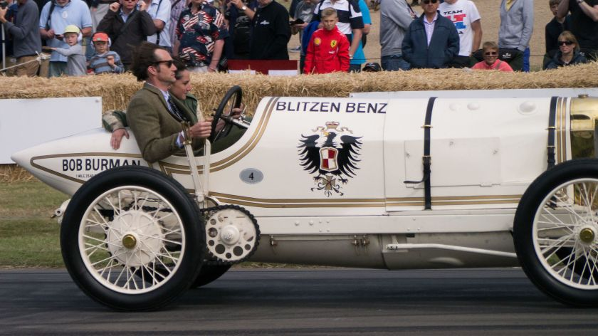 1909 Benz 200 Blitzen Benz at the 2015 Goodwood Festival of Speed