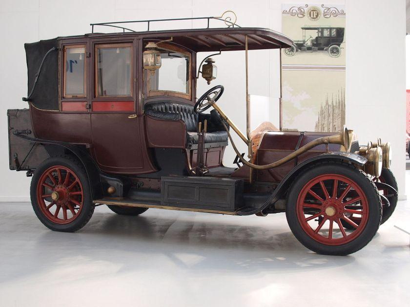 1909 Isotta-Fraschini AN 20-30
