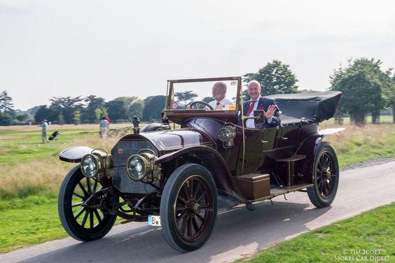 1909 Mercedes 135HP Kettenwagen