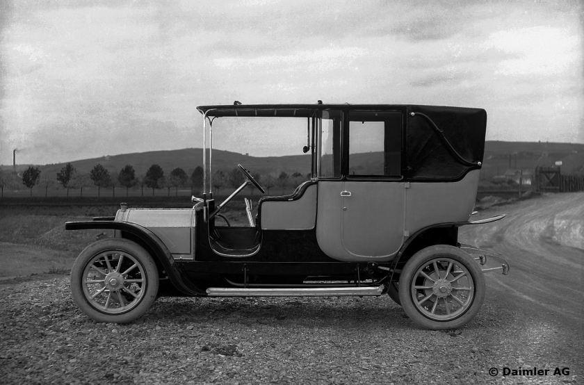 Mercedes 22/35 PS, Landaulet, Baujahr 1909.