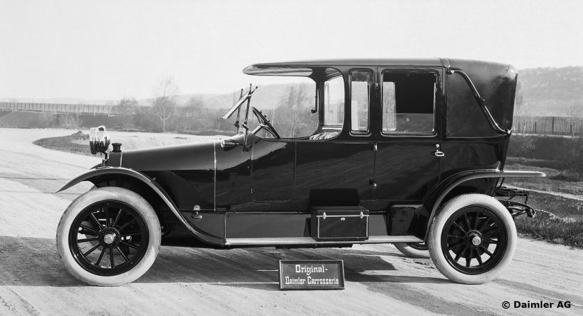 Mercedes 22/40 PS, Landaulet, 1910 - 1912.