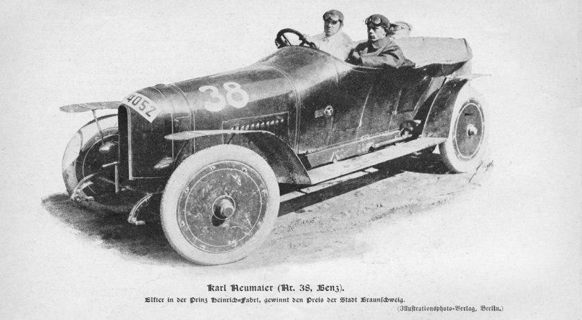 1910 Benz Prinz Heinrich car