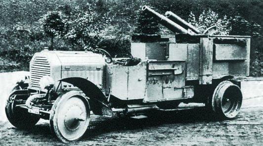 1910 Krupp-Daimler, 4x4