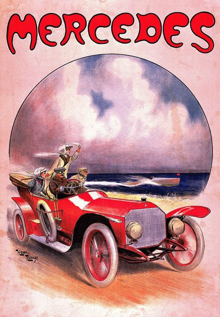 1910 Mercedes 14-30 PS Henri Rudaux ad