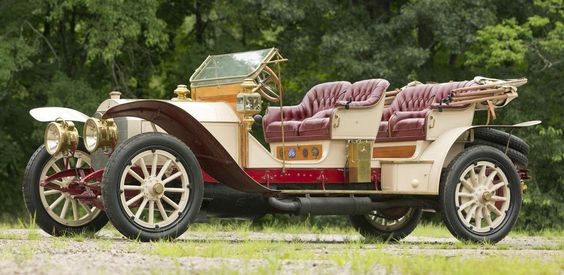 1910 Mercedes Benz 45hp 4-Seat Tourabout.