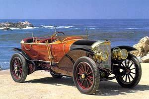 1911 Mercedes Skiff Woodie!