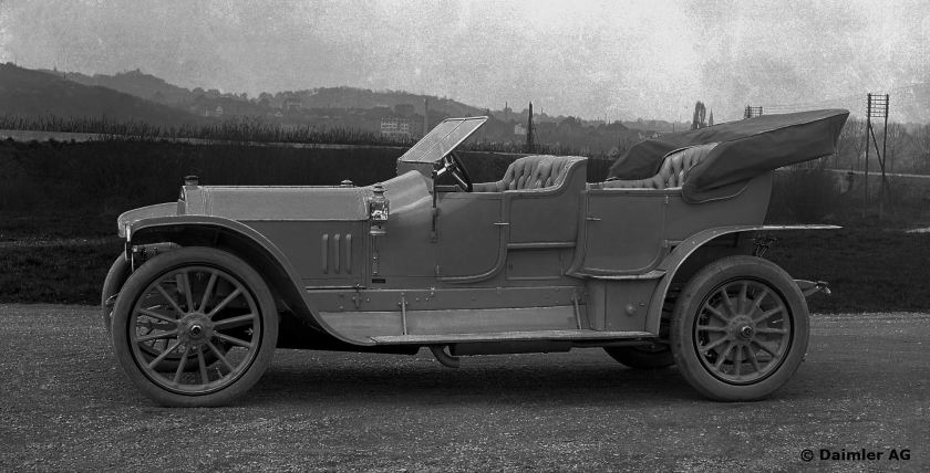 Mercedes 28/60 PS, Phaeton, Bauzeit: 1912 bis 1920.