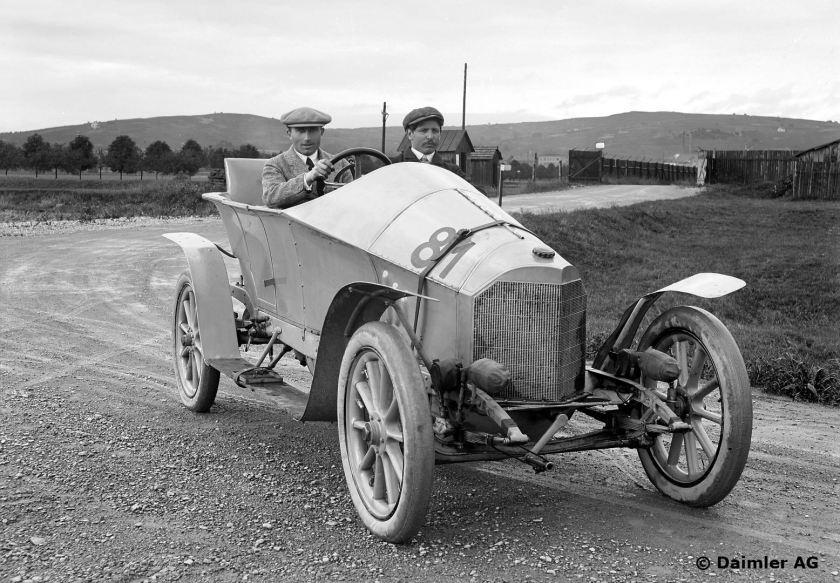 Mercedes 28/60 PS, Rennwagen, Bauzeit: 1912 bis 1920.