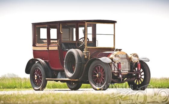 1912 Mercedes 28-50 PS Town Car D