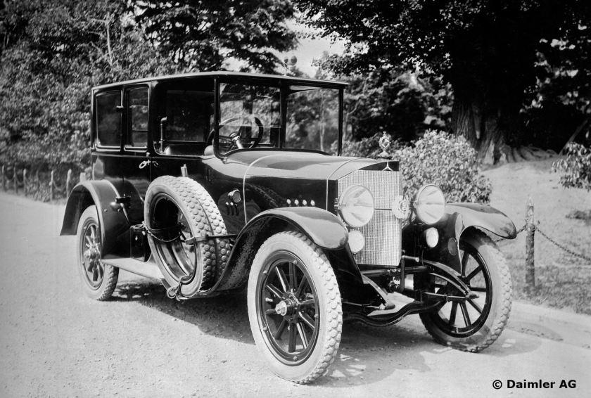 1912 Mercedes für den japanischen Kaiser Yosihito