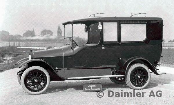 1913 Daimler ambulance Type UK with 10-30 hp Knight engine