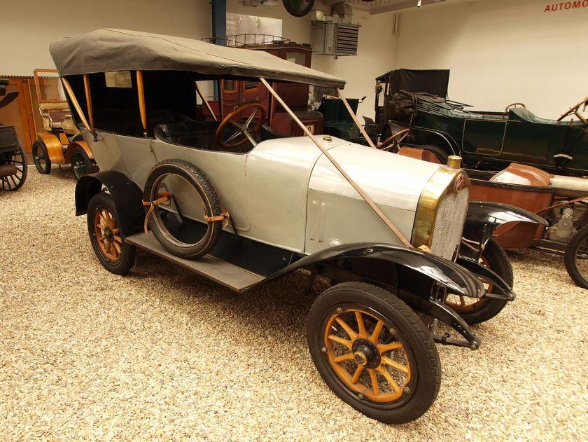 1913 Praga Alfa 5-15 HP