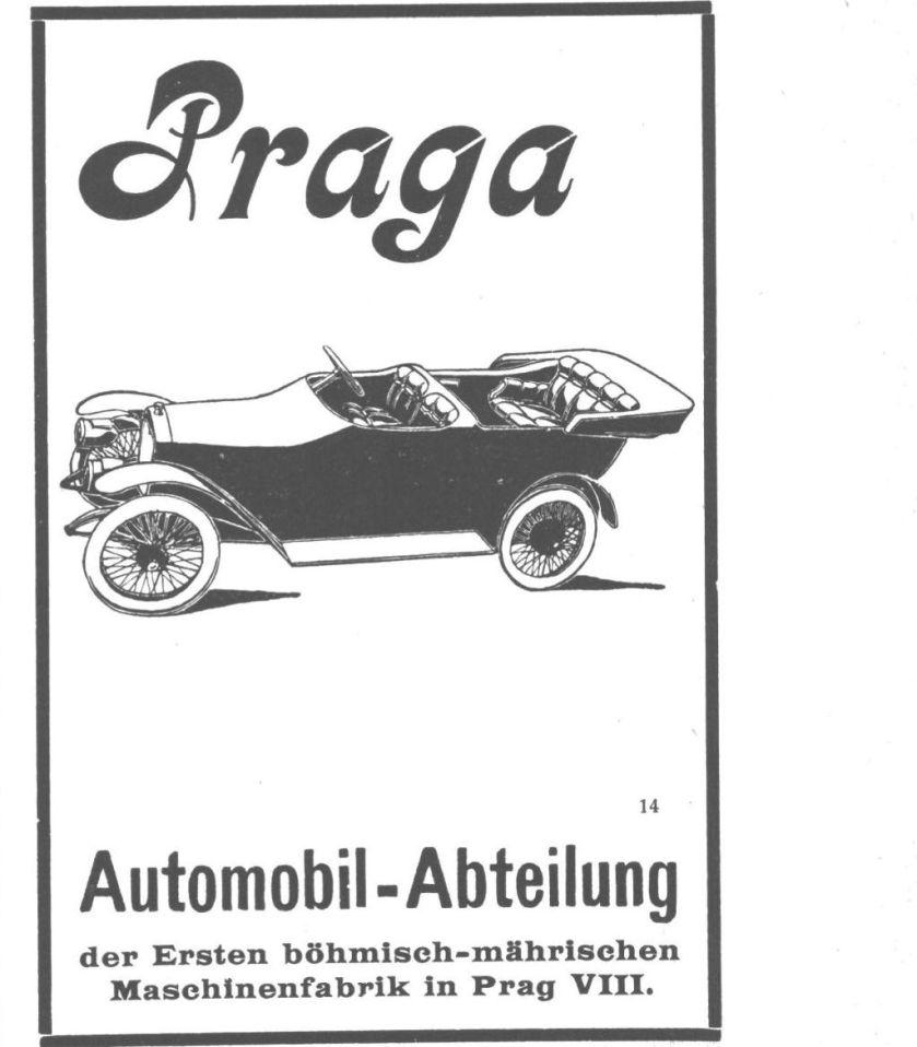 1913 Praga reklama AAZ 1913 0803-1913