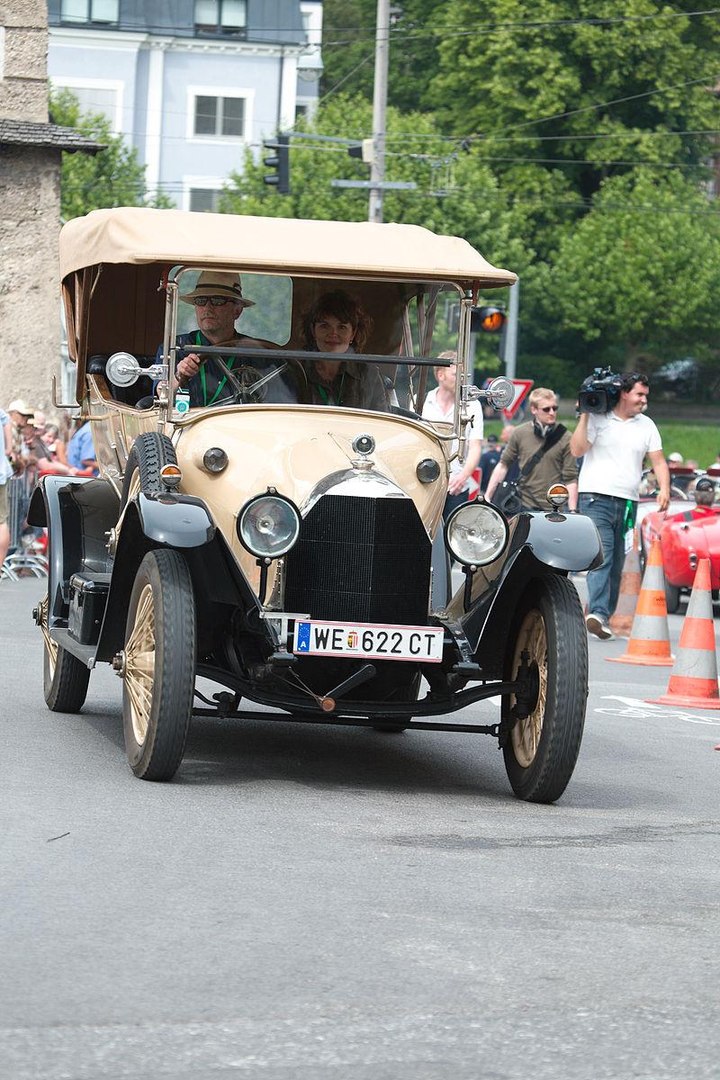 1914 Austro-Daimler 14-32