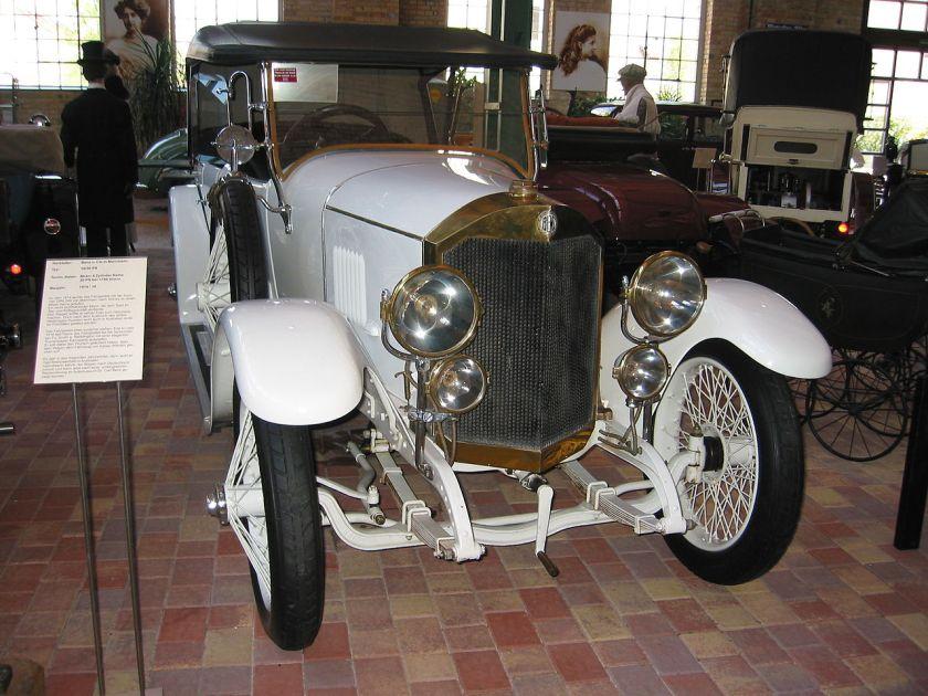 1914 Benz 10-30 PS with Torpedo style bodywork