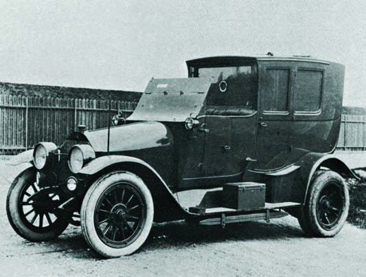 1914 Mercedes 28-60PS staff car