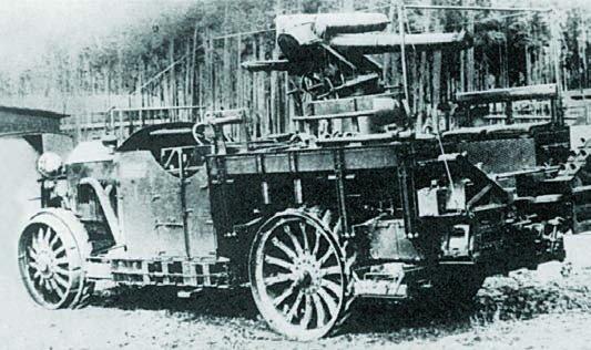 1915 Krupp-Daimler 80PS (Kw.19), 4x4