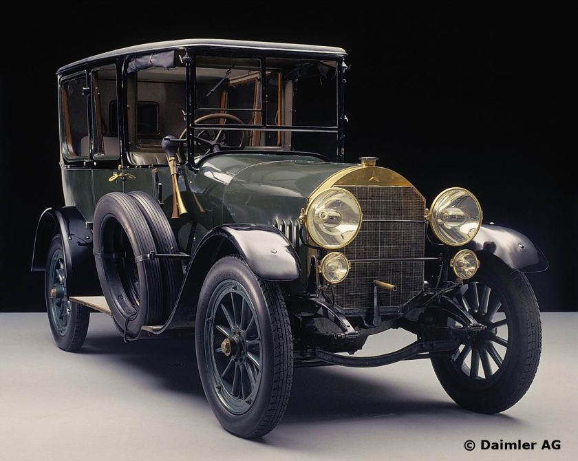 Mercedes 22/50 PS Limousine, 1915.