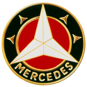 1916 Mercedes logo