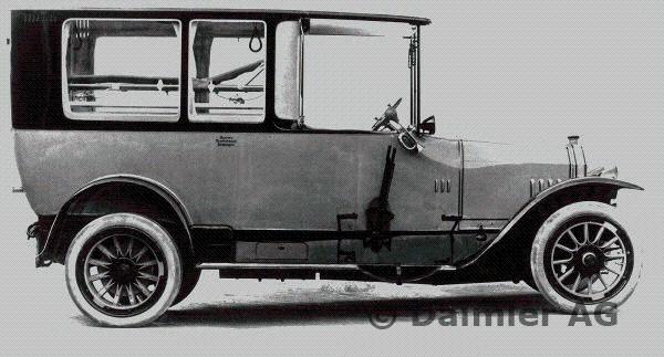 1920-21 Daimler ambulance Type UK with 16-45 hp Knight engine