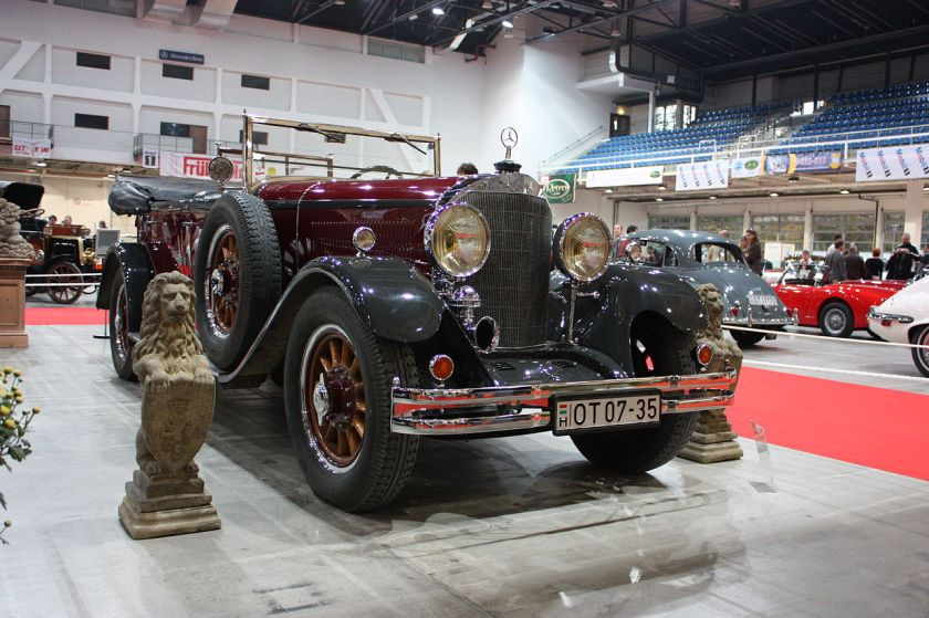 1921-24 Mercedes-Benz 15-70-100 PS Typ 400