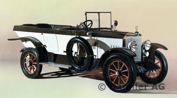 1921 Mercedes Knight 16-40 hp, 16-45 hp, 16-50 hp