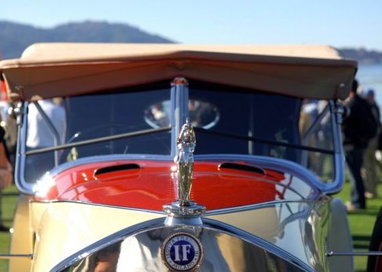 1922 Isotta Fraschini Tipo 8 at the Pebble Beach Concours d'Elegance