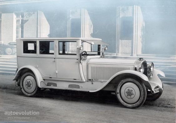 1922 MAYBACH Typ W3 22-70 HP (Closed Body)
