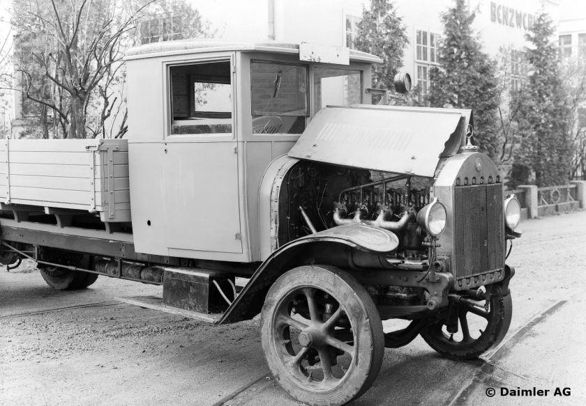 Mercedes-Benz Typ 5 K 3 Diesel-Lastwagen, 10 Jahre im Betrieb, 1923 -1933.