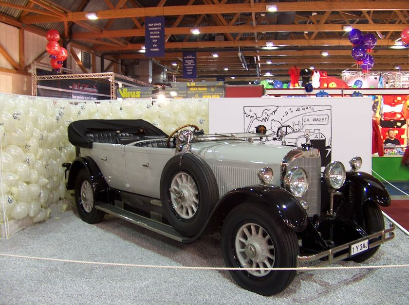 1924-1929 Mercedes 15-70 PS with Torpedo style bodywork