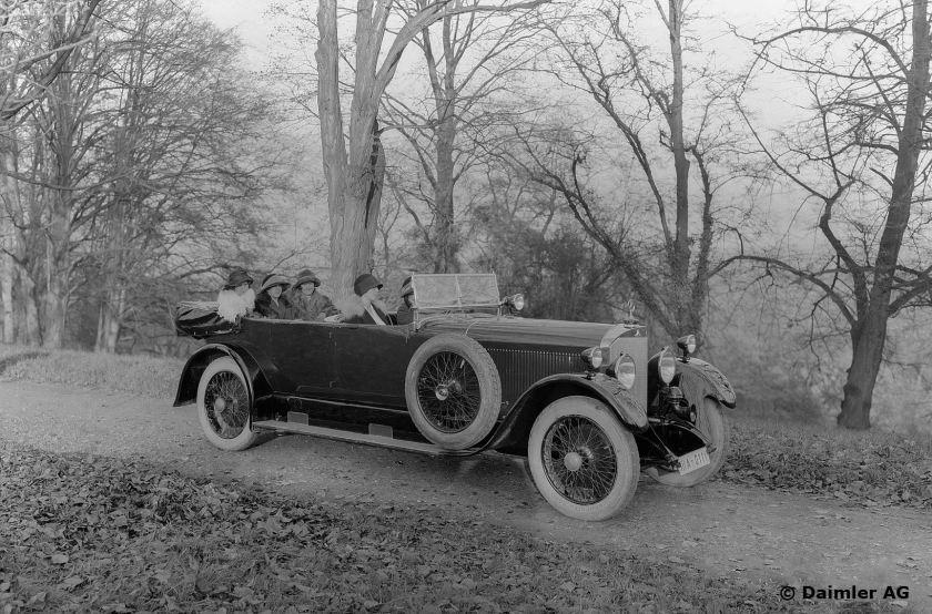 Mercedes 15/70/100 PS, Typ 400, Tourenwagen, Bauzeit: 1924 bis 1929.