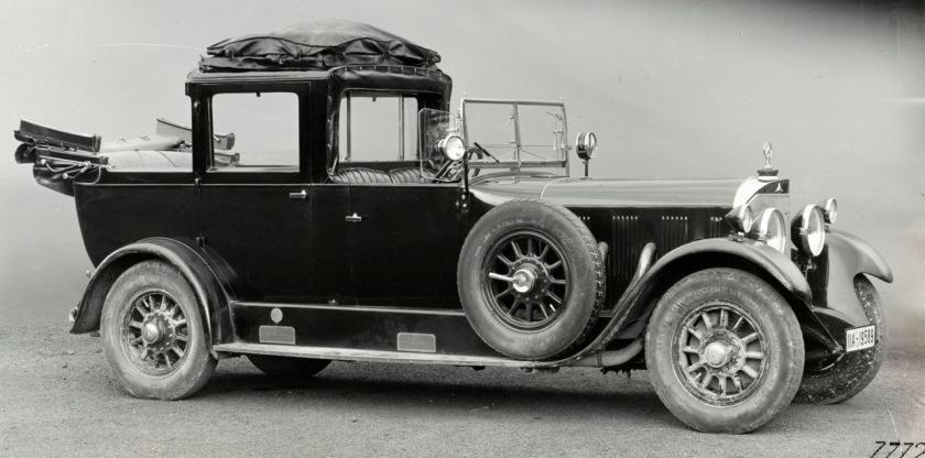 1924-29 Mercedes Benz Typ 24-100-140 HP Pullman-Stadtcoupe