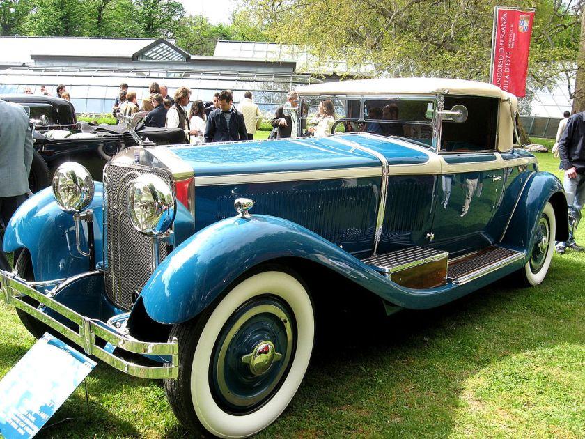 1924-31 Isotta-Fraschini 8A-Roadster