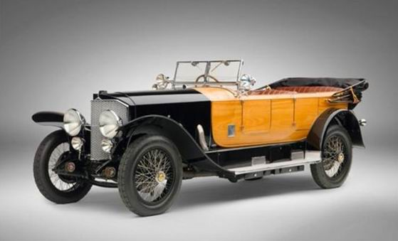 1924 Mercedes 28-95 Sport Phaeton