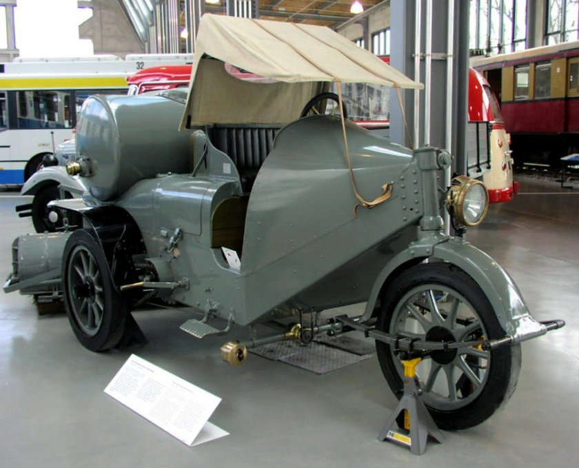 1924 MHV Krupp Street Brushing Mashine a