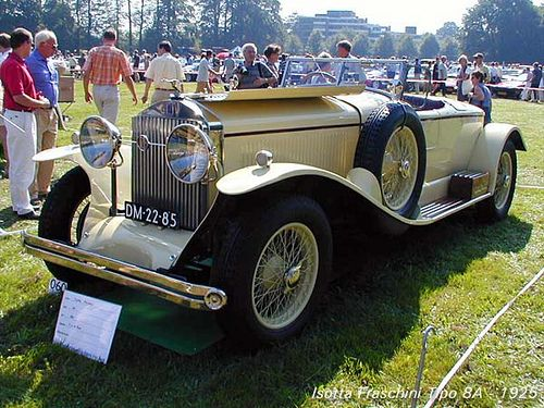 1925 Isotta Fraschini Tipo 8A cabriolet Corsica