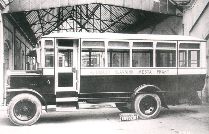 1925 Praga typ N