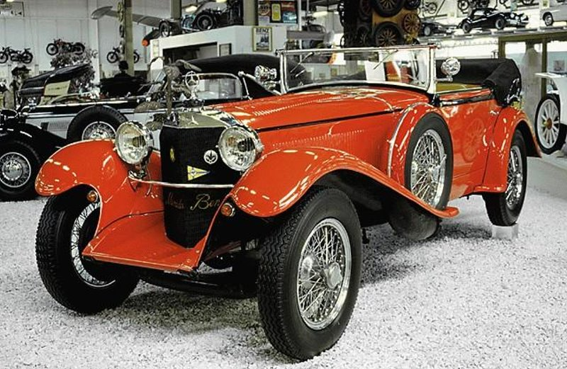 1926-28 Mercedes Benz 5-25 PS (W01 - W14) Typ 140 - 130