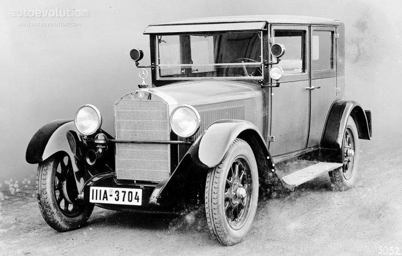 1926-28 MERCEDES BENZ 8-38 Typ 200 (W02) a