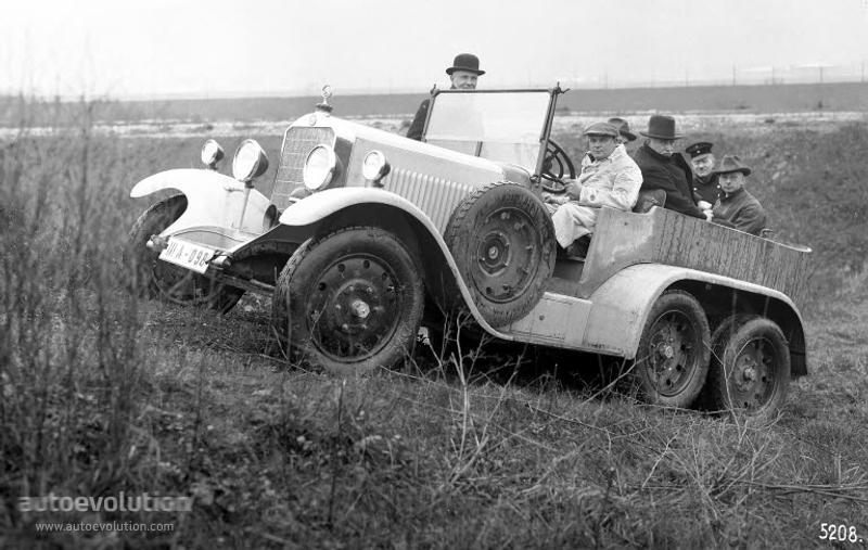 1926-28 MERCEDES BENZ G1 (W103)