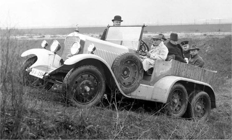 1926-29 Mercedes Benz 12-55 HP (W03+W04) typ 300-320