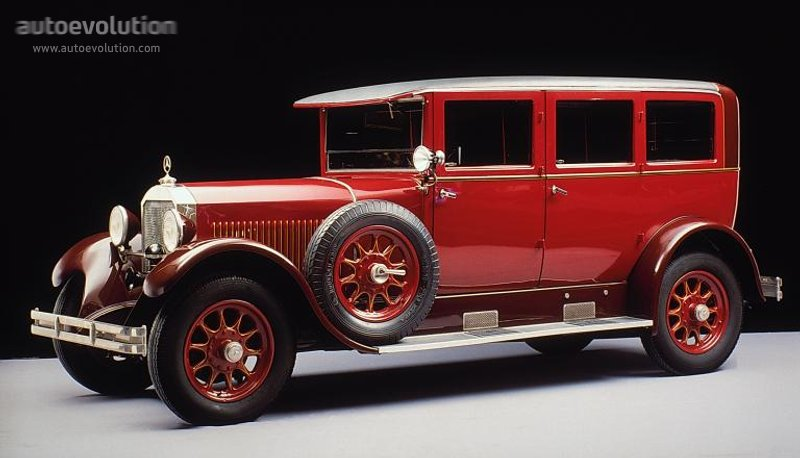 1926-29 MERCEDES BENZ Typ 12-55 - 14-60 (W03+W04+W05)