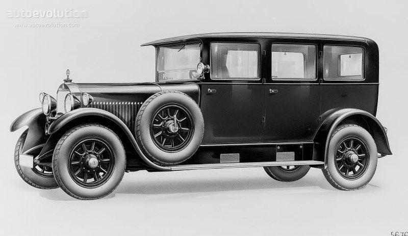 1926-29 MERCEDES BENZ Typ 12-55 - 14-60 (W03+W04+W05)a