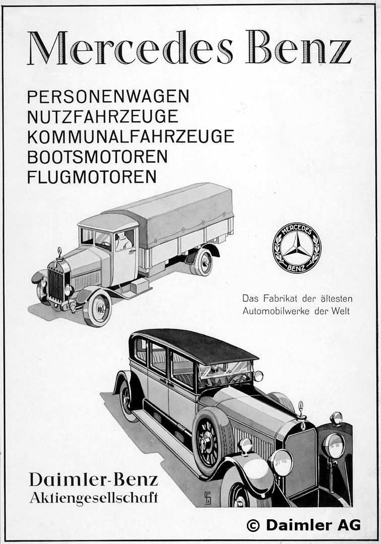 1926 Advertising Passenger Cars