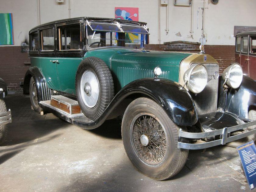1926 Isotta Fraschini 8A aus der Sammlung Schlumpf