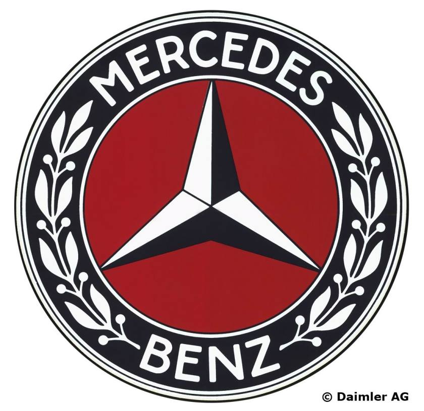 1926 New Mercedes-Benz trademark